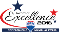 RE/MAX Award of Excellence 2016